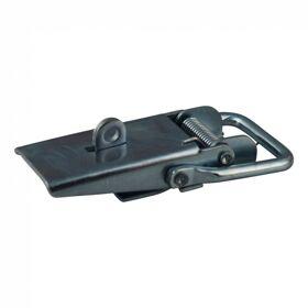 Opbouwspansluiting met veiligheids-oog verzinkt 48*119mm
