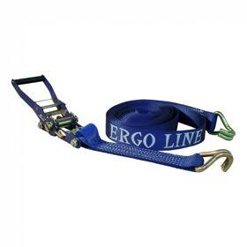 "Zware spanband ""ERGO-LINE"" met trekratel blauw 50mm 9000mm Ergo line"