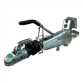 Oplooprem Knott KF30-E mechanisch , kogelkoppeling, console gelast