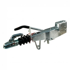 Oplooprem Knott KRV20-A #100 mechanisch , kogelkoppeling, console gelast