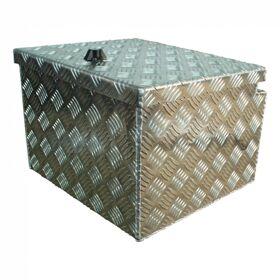 Disselbox aluminium lxbxh, 400x380x295mm