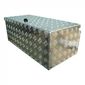 Disselbox aluminium lxbxh, 750x380x295mm