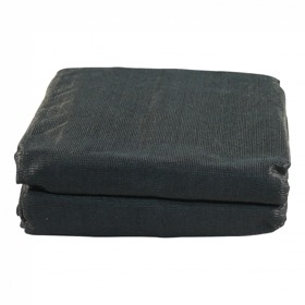 Gaaskleed gaasnet 2500x1600 zwart, incl. elastiek
