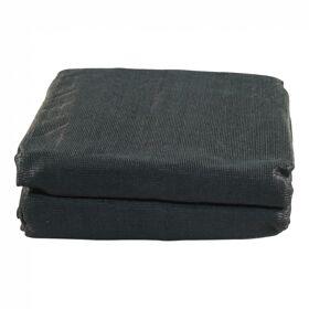 gaaskleed 4000x2300 zwart, fijnmazig incl. elastiek