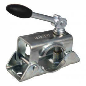 Neuswielklem opschroefbaar Ø48mm verzinkt wegklapbare slinger