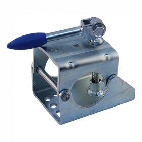 neuswielklem opschroefbaar Ø60mm verzinkt wegklapbare slinger