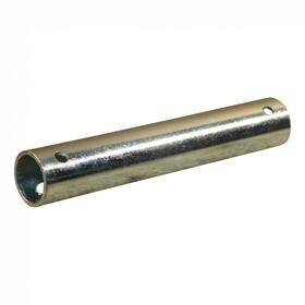 Los asje asbus neuswiel Ø20mm 115mm verzinkt