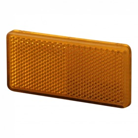 Reflector  oranje zelfklevend 90x40