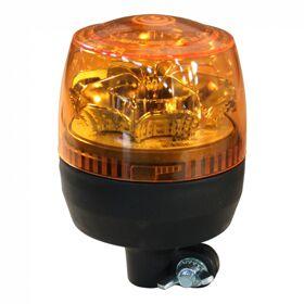 Zwaailamp LED 12-24V oranje steekbevestiging, flexibele voet AjBa