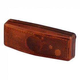 Zijmarkeringslamp oranje AJBA FL.080 kabeltule aansluiting