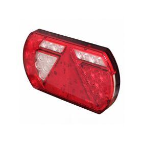 Achterlicht LED Lucidity L26060 12 V , links, centrale stekkeraansluiting 8-polig