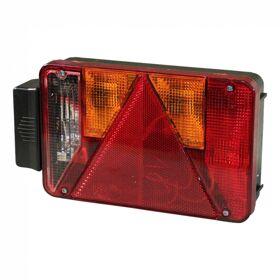 Achterlicht Radex serie 5901 rechts met achteruitrijlamp centrale stekkeraansluiting 5-polig