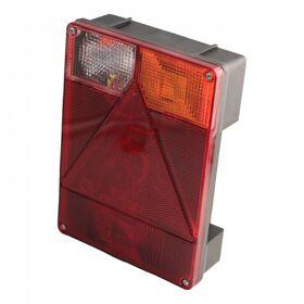 Achterlicht Radex serie 6800 rechts met achteruitrijlamp centrale stekkeraansluiting 5-polig