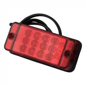 Mistachterlicht WAS 700KR LED 12-24V 0,5m DC 47 x 108