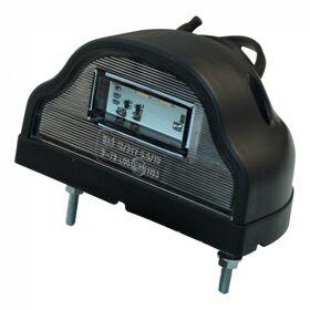 Kentekenverlichting LED WAS 408 , DC kabelkabel 500mm , 2x 0,75mm²