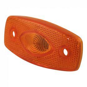 Zijmarkeringslamp oranje AJBA FL087 stekkeraansluiting 2-polig