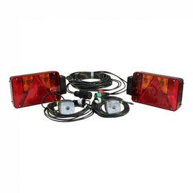 Verlichtingsset  achterlichtset Radex serie 5901 7-polig 8000mm 6500mm