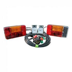 Achterlichtsetset Radex serie 5001 7-polig 5000mm 1500mm inc. breedtelampen