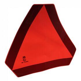 Markeringssticker langzaam rijdend verkeer basis driehoek 350-365mm fluoriserend rood