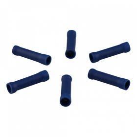 Doorverbinder voor draad 1,5 - 2,5mm2 , blauw doosje 100st.
