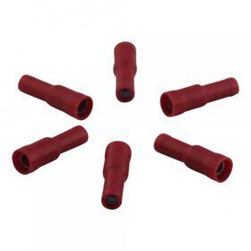Kabelschoen, rondstekerhuls voor draad 0,5 - 1,5mm2 , Ø4 , rood doosje 100st.