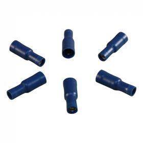 Kabelschoen, rondstekerhuls voor draad 1,5 - 2,5mm2 , Ø5 , blauw doosje 100 st.