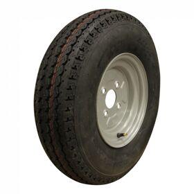 Compleet wiel, velg met band  5.00-10  4PR  60/100/4 72 N