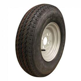 Compleet wiel, velg met band 5.00-10 KT-715 6PR + 3.50Bx10H2 ET0 60/100/4 79 N