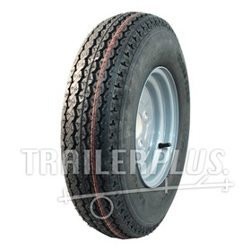 Compleet wiel 4.00-10 KT-715 4PR + 3.50Bx10H2 ET0 85/115/4 63 N staal, grijs, Franse steek