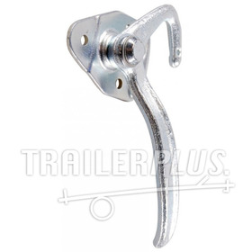 Trailerhaak type 0, 12mm, handgreep 145mm links