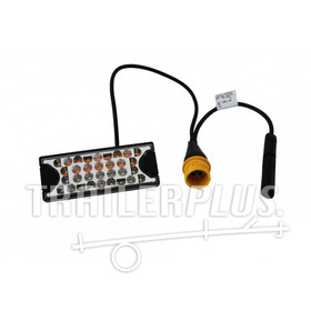 Achterlicht Aspöck Mini LED II links met ASS2 connector