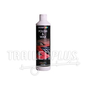 000740 Car polish + wax 500 ml.
