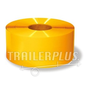 Reflecterende tape geel 50mm 25meter