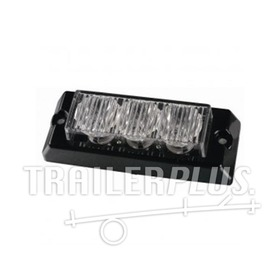 Stroboscoop 12/24v oranje 3 led