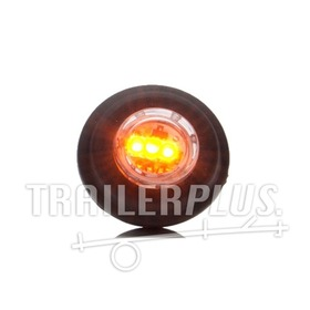 Toplamp markeringslamp led oranje 12/24v inbouw 21mm