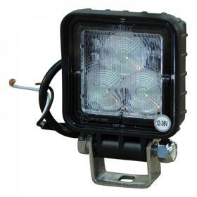 Led werklamp 70*70mm 12v-36v 8W Lucidity