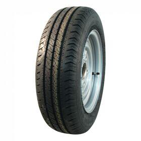 Complet wiel 165/70 R13 FRT R701 M+S + 4Jx13H2 ET30 57/100/4 79 N staal, grijs,