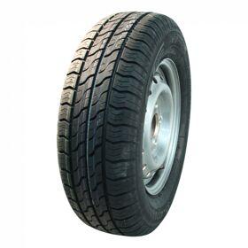 Compleet wiel, velg met band 145/80R13 Kargomax ST-4000 + 4Jx13H2 ET30 66,5/112/5 79 N staal, grijs