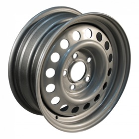 Compleet wiel, velg met band 185/65 R14 AW-414 M+S + 5½Jx14H2 ET30 57/100/4 93 N staal, grijs