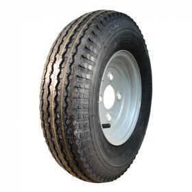 Compleet wiel velg met band FRANS 4.80/4.00-8 S-6003 6PR + 2.50Ax8H2 ET0 85/115/4 71 M staal, grijs,