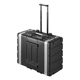 "Rack Case 19"" 6U trolley"