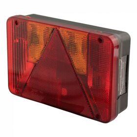 Achterlicht met driehoek en mistlamp Radex 5800 - Links