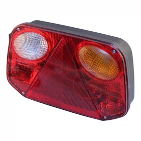 Achterlicht (horizontaal) Radex 2800, achteruitrijlicht,  CONNECTOR - Rechts