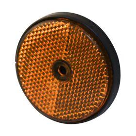 Reflector rond 60 mm, oranje PROFI E-keur