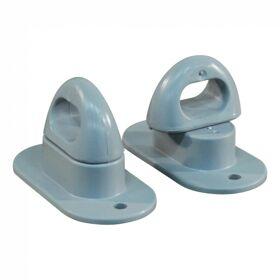 Tourniquet / snoeroog, zeiloog PVC grijs