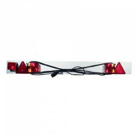 Verlichtingsbalk/ verlichtingsplaat + mistachterlicht, 6m kabel