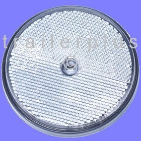Reflector, rond 85 wit per 10 st