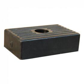 Bootkussen, rubber, zijsteun klein 131*80