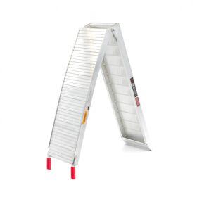 Oprijplaat opvouwbaar Aluminium 225cm 300kg