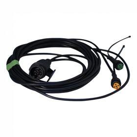 Kabelset Aspock 13 polig Jaeger L=5m,  5 pins